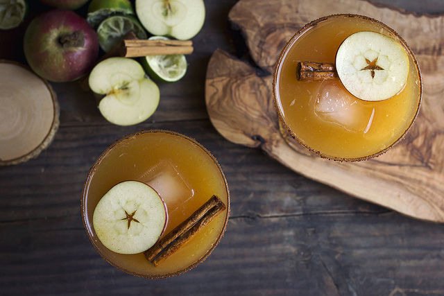 Seasonal Cider Margaritas