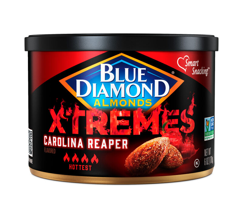 Ultra-Spicy Almond Snacks