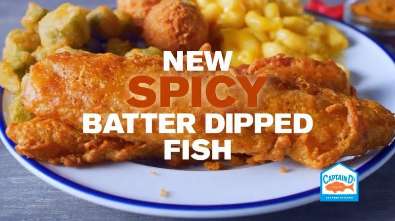 Spicy Fish Fillet Sandwiches