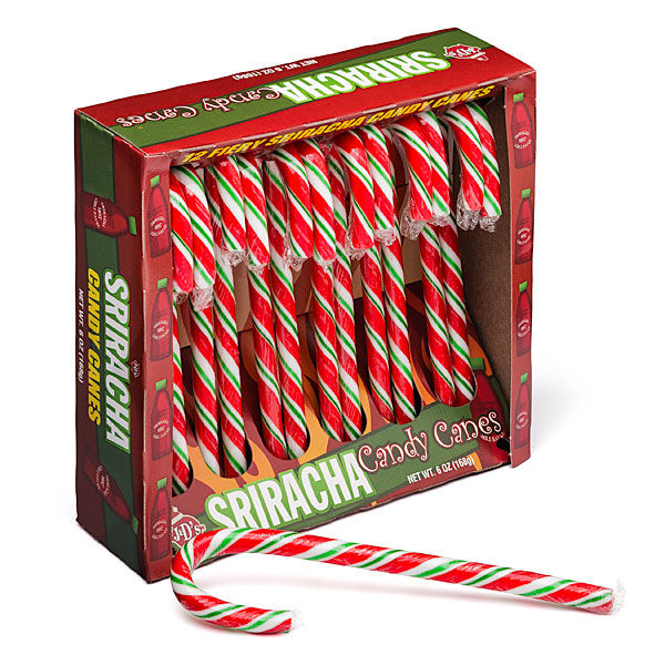 Fiery Hot Holiday Candies