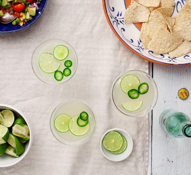Piquant Jalapeno Margaritas