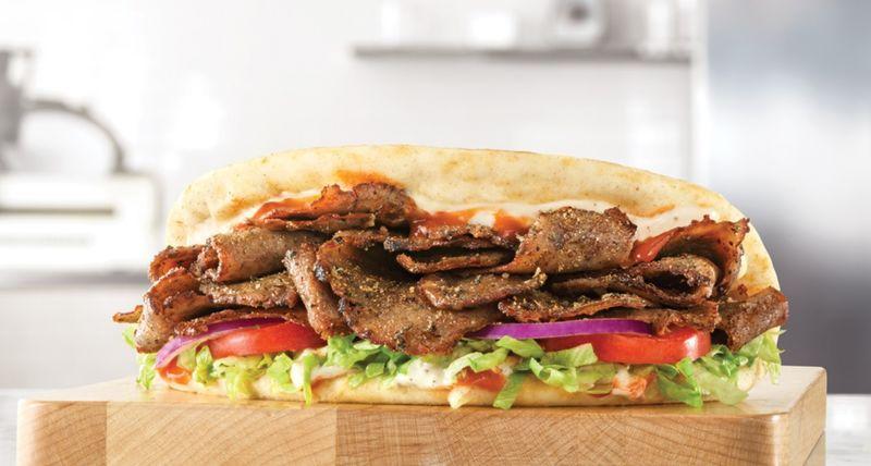 Spicy Greek Gyros