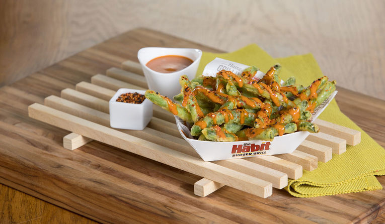 Spicy Green Bean Appetizers
