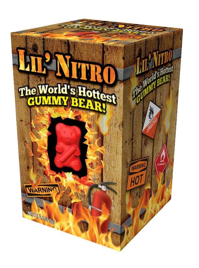 Ultra-Spicy Gummy Bears