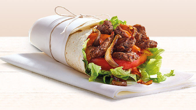 Piquant Steak Wraps