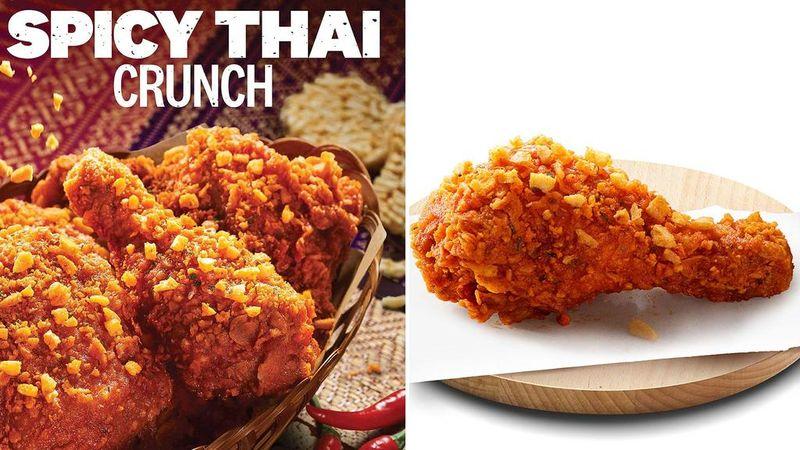 Crunchy Thai Chicken Combos