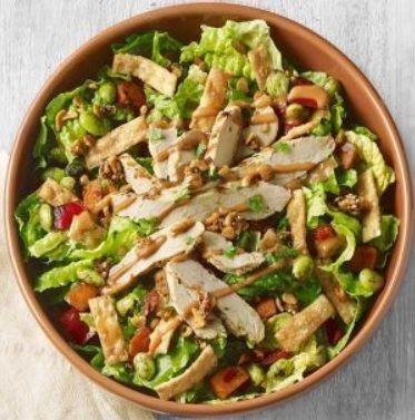 Spicy Thai Chicken Salads