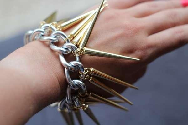 Jagged DIY Dagger Jewelry