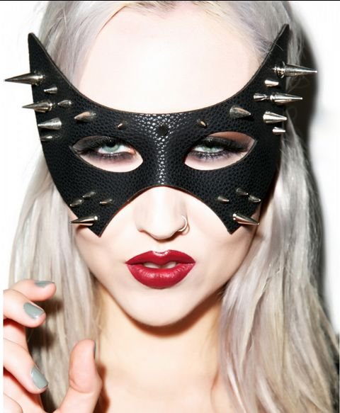 Spiked Cat Masks