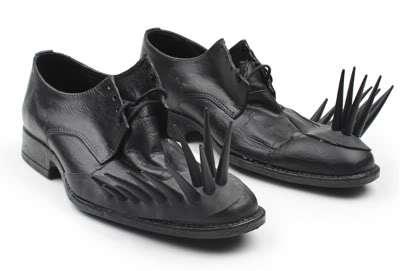 Poignantly Pointy Footwear