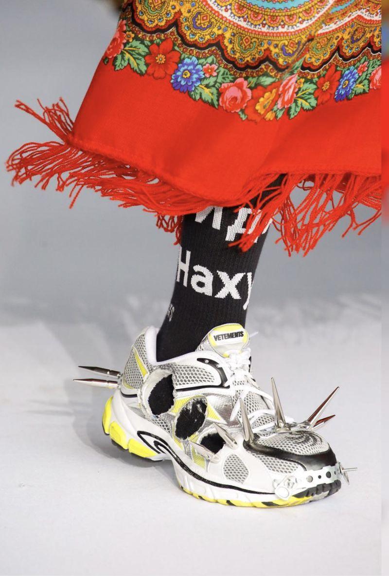 Ultra-Edgy Designer Footwear