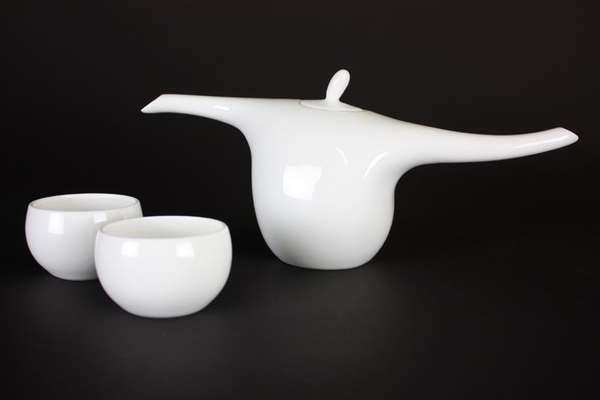 Long Limbed Teapots Spin Ceramics