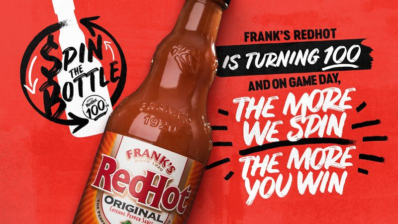 Football-Themed Hot Sauce Promotions