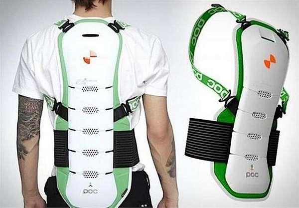 Spine-Protecting Ski Gear