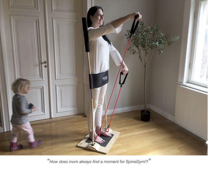 Posture-Correcting Gym Equipment