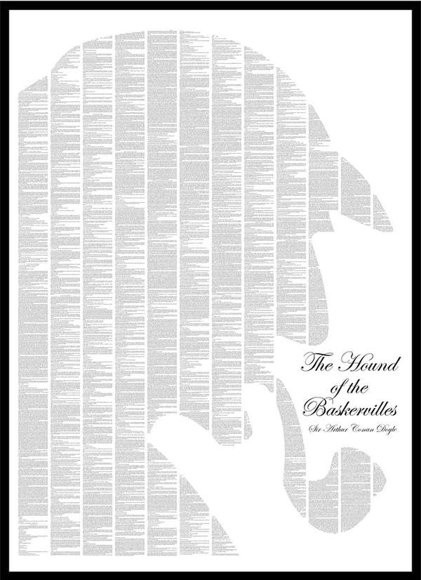 Beloved Silhouetted Literary Posters