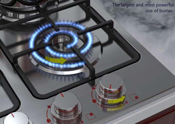 Electric-Looking Cooktops