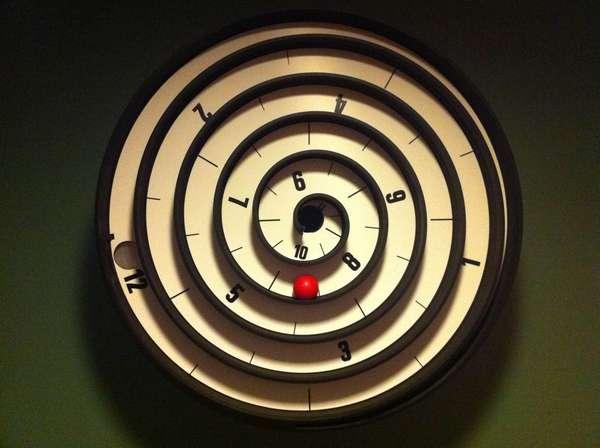 Circular Maze Clocks