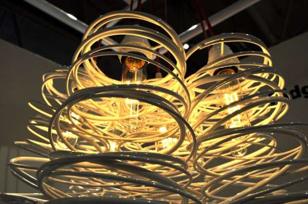 Cylindrically Coiled Lighting
