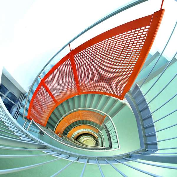 Hypnotically Spiraling Staircases