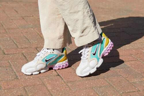 Street-Inspired Colorful Sneakers
