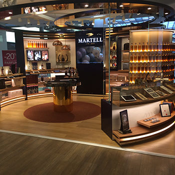 Multi-Sensory Cognac Shops
