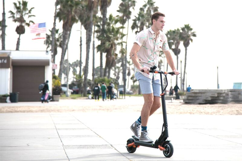 Full-Suspension Electric Scooters