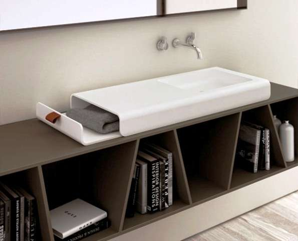 Bathroom Bookshelves