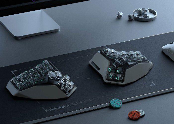 Contoured Keyboard Peripherals