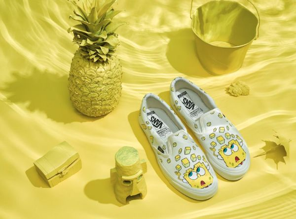 Cartoon Sponge Sneakers