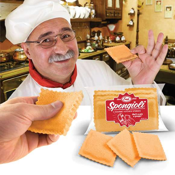 Ravioli Sponges