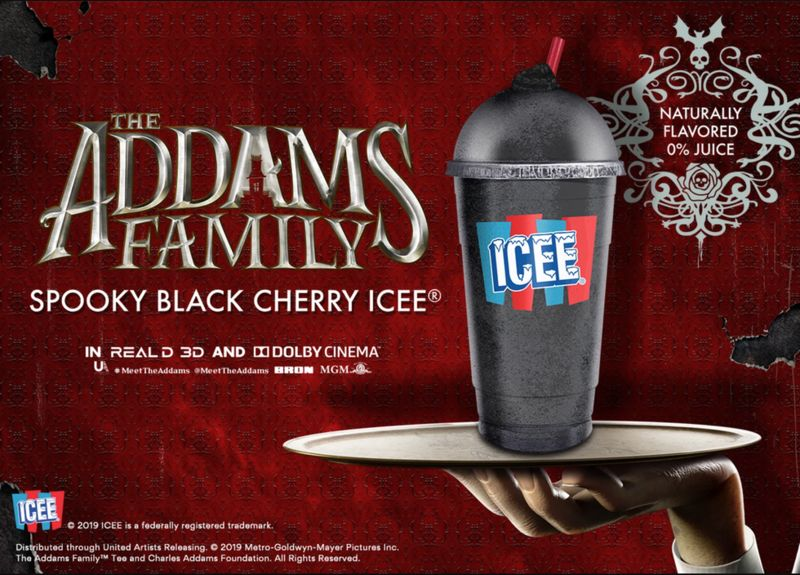 All-Black Cherry Slushies