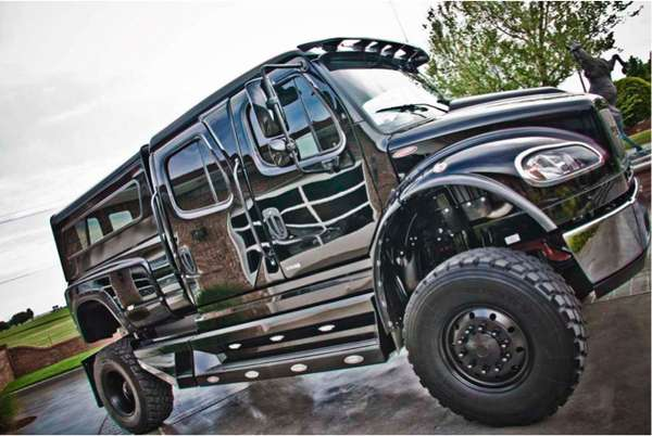 Oversized Pickup Trucks