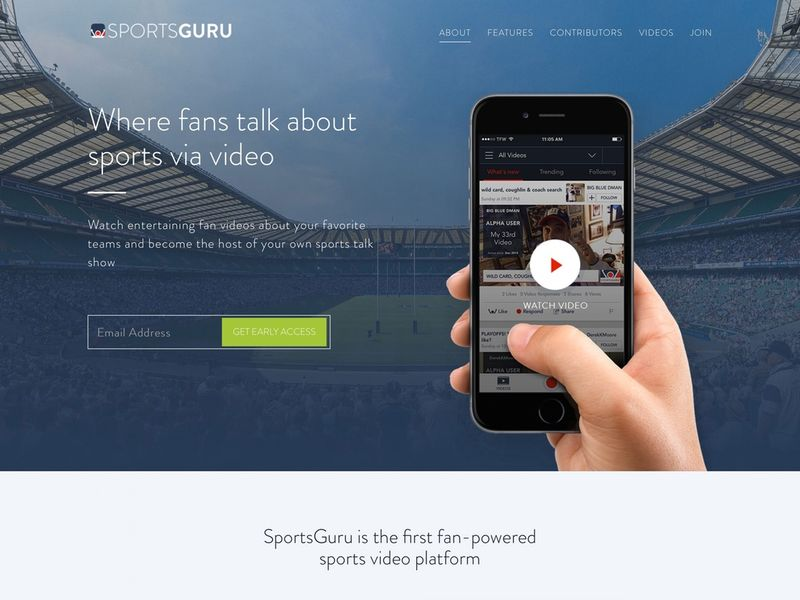 Sports Fan Video Apps