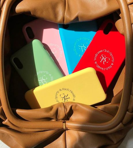 Sports Club-Themed Phone Cases