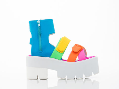 Vibrantly Sporty Sandals