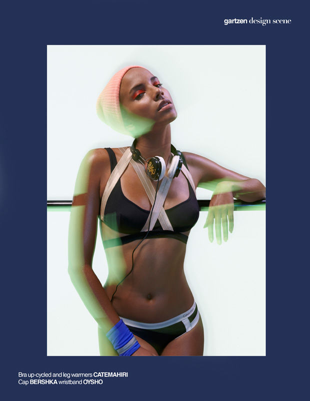 Sporty Swimwear Editorials