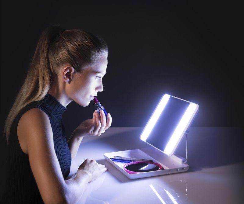 Crisp Cosmetic Application Mirrors