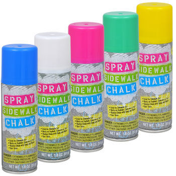Spray Chalk Cans