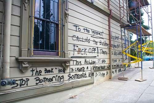 Graffiti Hate Letters