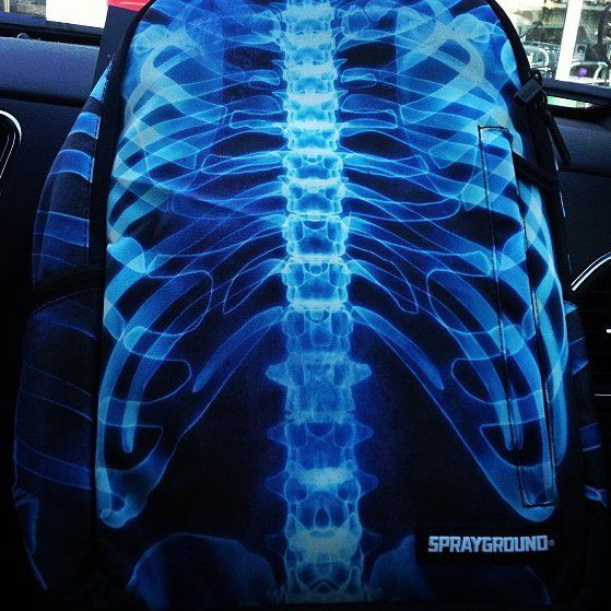 Photorealistic X-Ray Backpacks