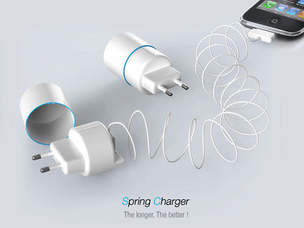 Slinky-Like Phone Chargers