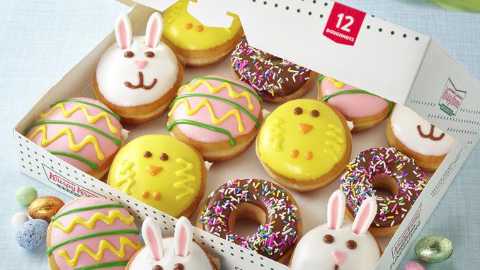 Playful Springtime Doughnuts