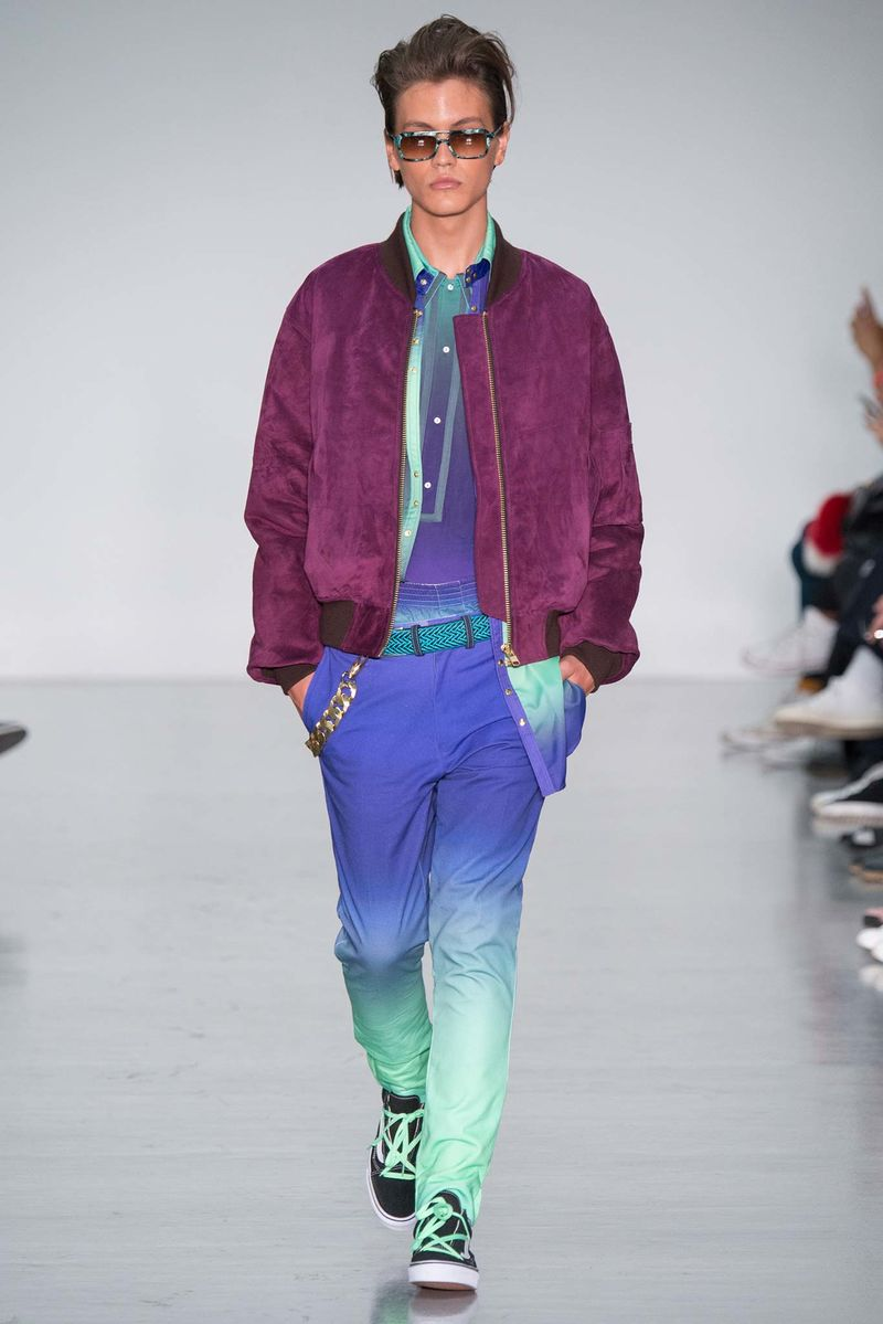 Whimsical Cartoon Menswear