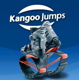 Spring-Soled Bouncing Shoes: Kangoo Jumps
