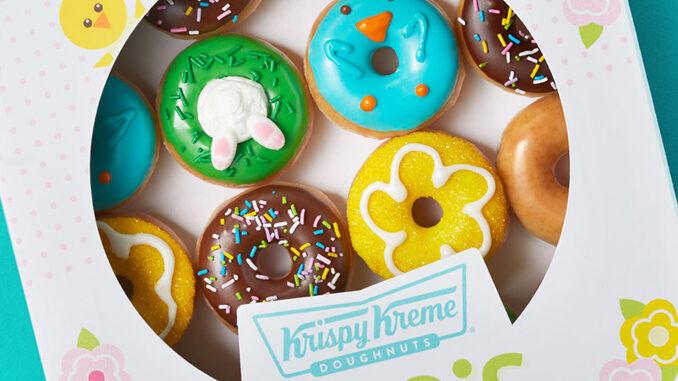Spring-Inspired Mini Doughnuts