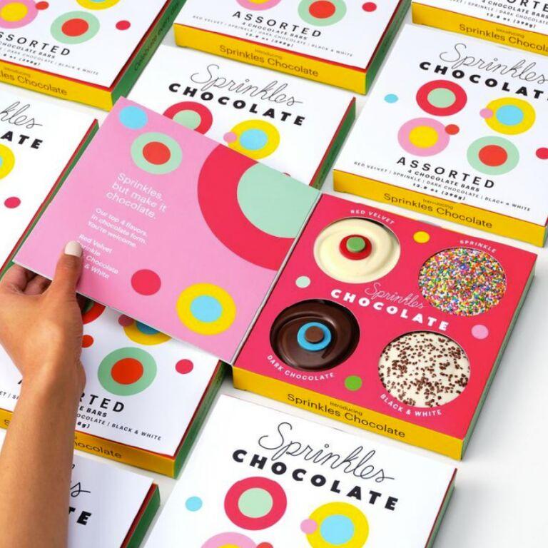 Cupcake-Inspired Chocolate Bars
