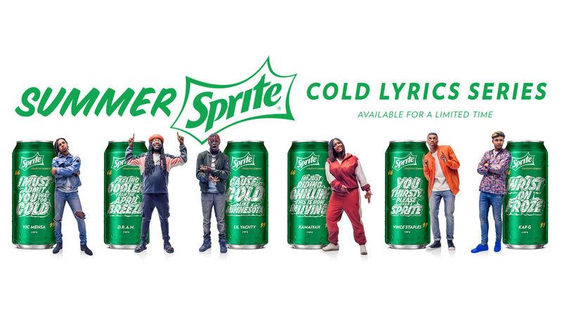 Musical Lyric Soda Cans