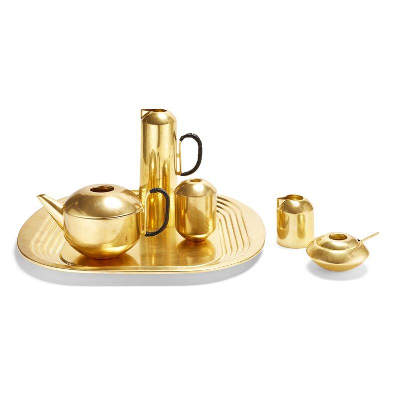 Spun Brass Tea Sets