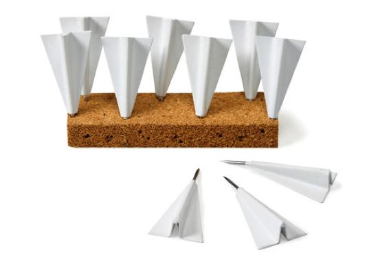 Paper Airplane Pushpins